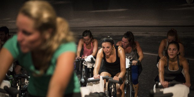 Here's What You're Really Getting Yourself Into When You Walk Into A Spin Class | HuffPost Life