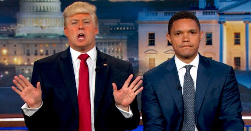 'Donald Trump' Gets Trevor Noah To Admit The 'Daily Show' Is Fake News