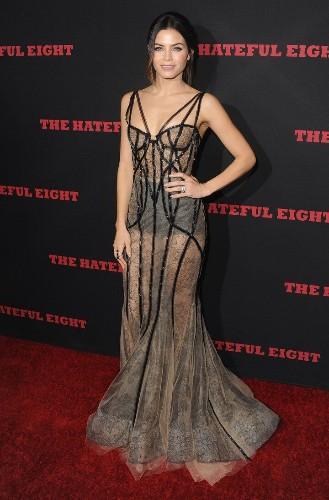 Jenna Dewan Tatum Wears Totally Sheer, Sexy Dress For Movie Premiere