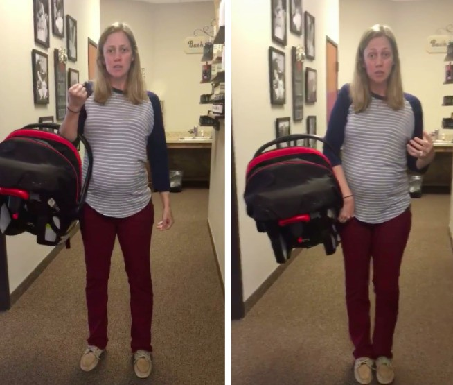 Chiropractor's Car Seat Carrier Hack May Just Change Your Life | HuffPost Life
