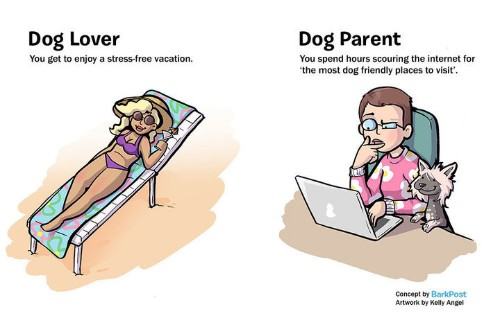 Hilarious Comic Nails What It's Like To Be A Dog Parent vs. A Dog Lover