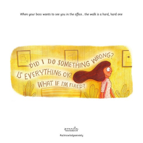 14 Illustrations That Are All Too Real For People With Anxiety