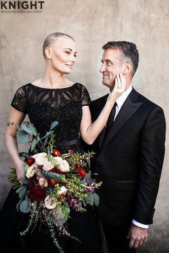 This Bride With Breast Cancer Was Gifted A Stunning Engagement Shoot | HuffPost Life