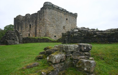 'Very Angry Badger' Seizes Part Of 500-Year-Old Scottish Castle