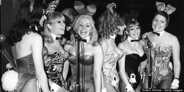 Vintage Playboy Bunny Photos: A Look Back On The Retro Rabbit Costume