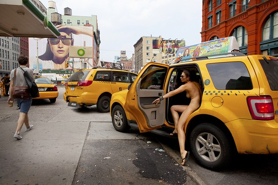 Photography Book: Nude Self-Portraits Around Busy New York City (NSFW)