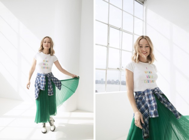 Olivia Wilde's Used Clothing Line Is About Our 'Fashion Waste Crisis'