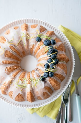 Chain of Thought - Citrus Blueberry Thyme Cake