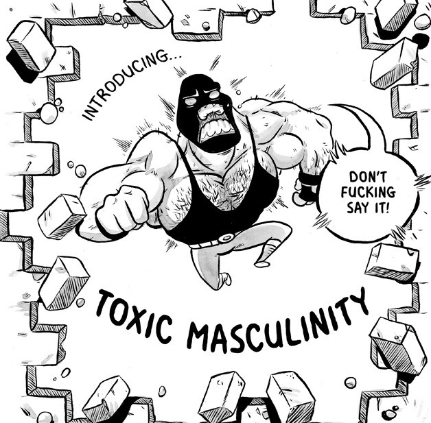 Artist's Comic About Alcohol Addiction And Depression Proves We Need To Redefine Masculinity
