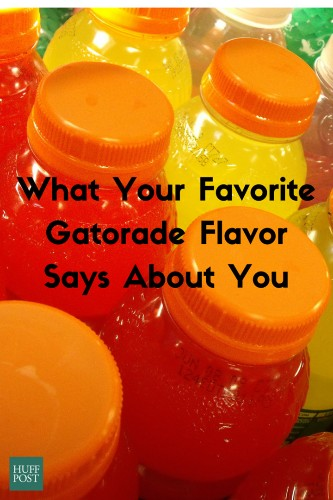What Your Favorite Gatorade Flavor Says About You | HuffPost Life