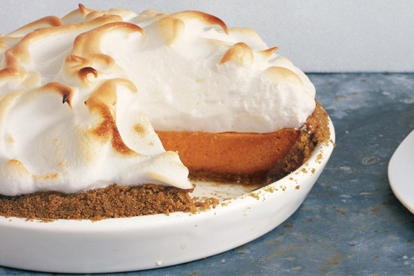 The Ultimate Thanksgiving Dessert: Sweet Potato Pie With Marshmallow Meringue