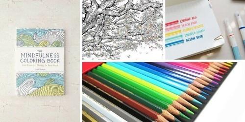 All The Essentials For The Adult Coloring Aficionado