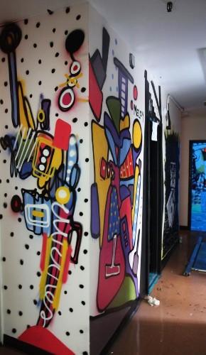 "Graffiti and Street Art Lock Up ""21st Precinct"" in New York"