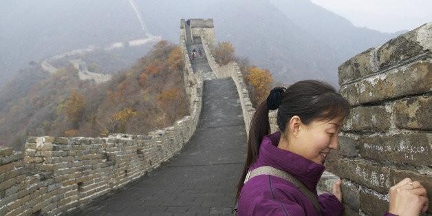 Great Wall Of China To Allow Graffiti   HuffPost Life