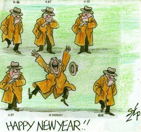 The Daily Szep -- Happy New Year