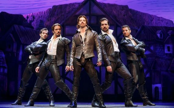 Broadway: Something Rotten! Beguiles and Amazes