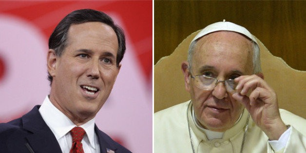 Rick Santorum Wants Pope Francis To Stop Talking About Climate Change