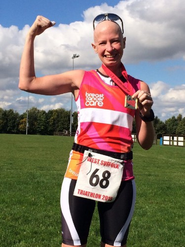 I Completed A Triathlon During My Chemotherapy For Breast Cancer
