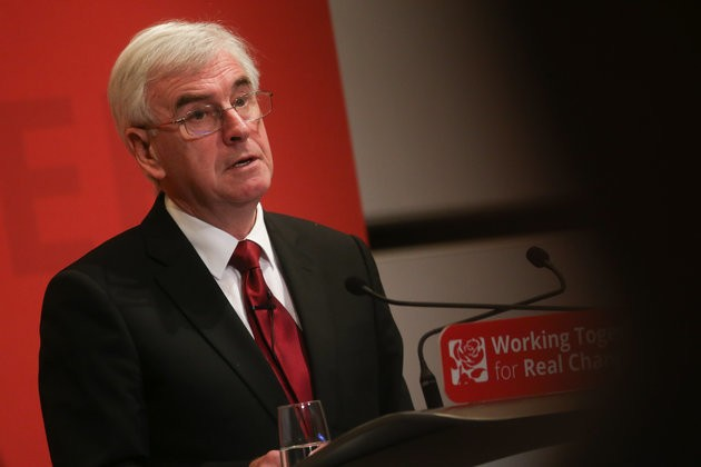 John McDonnell Warns 'Chaotic Breakfast' Will Damage Britain - He Meant To Say 'Brexit'