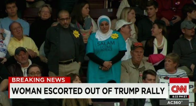 Woman Removed From Donald Trump Rally Wanted To Show 'Muslims Are Not That Scary'