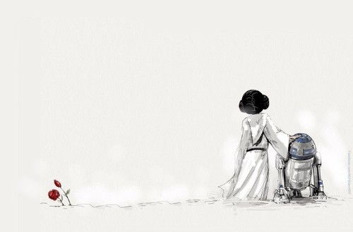 12 Illustrations That Pay Tribute To The Late, Great Carrie Fisher