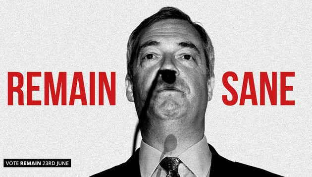 Nigel Farage Brexit Poster Deemed 'Too Personal' By David Cameron Before Referendum