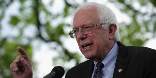 I'm Voting for Bernie Sanders Because He Answers Questions. Clinton 'Breaks Her Silence' Often