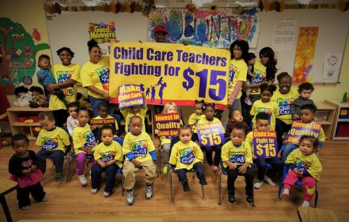 How The Fight For $15 Could Affect Your Kids