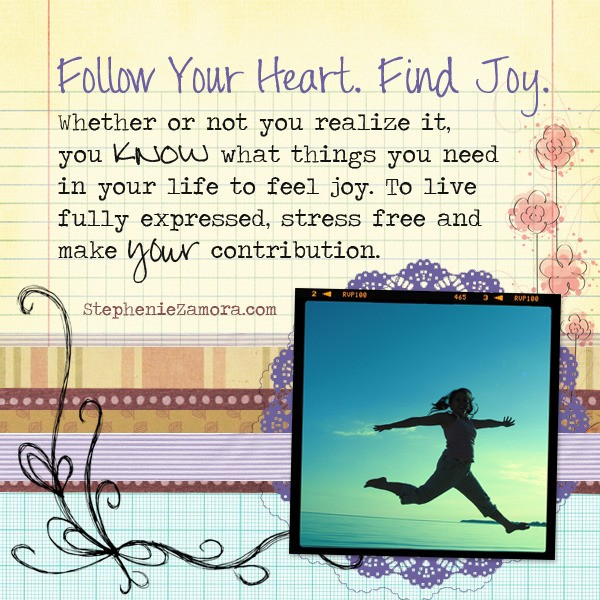 3 Things You Must Do to Feel Joyful