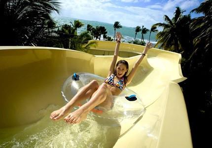 Top 5 Water Slides in Luxury Resorts