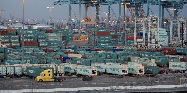 Truckers Strike at L.A. Port for Workers Rights