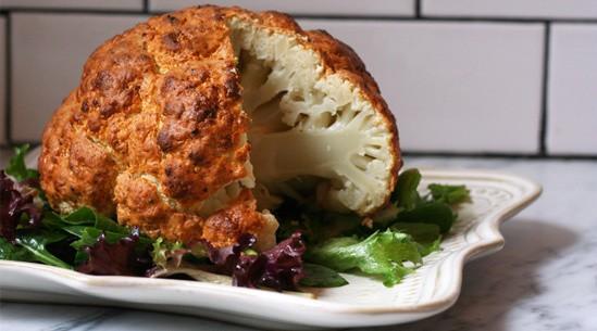 Forget Florets: Roast the Whole Darn Cauliflower!