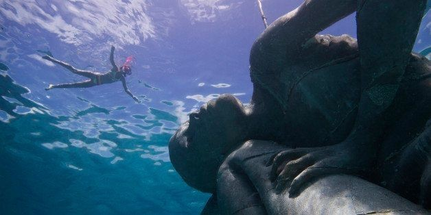 Now You Can Dive To A Massive Underwater Sculpture Because Art | HuffPost Life