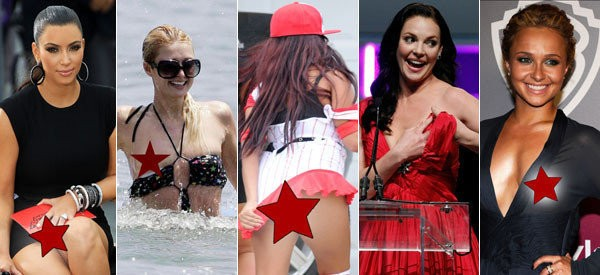Celebrity Wardrobe Malfunctions: Stars And Their Biggest Oops Moments (PHOTOS)