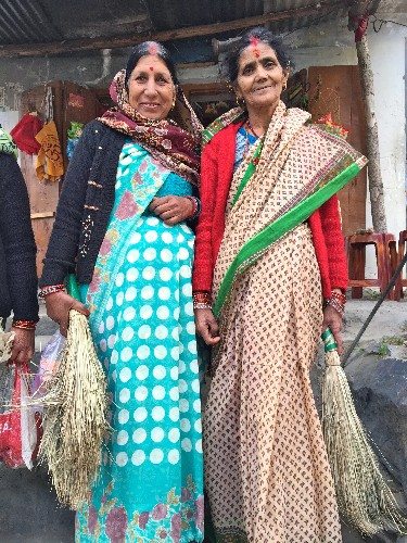Sound of the Jharu (Grass Broom) - Gleanings From My Trip Through India
