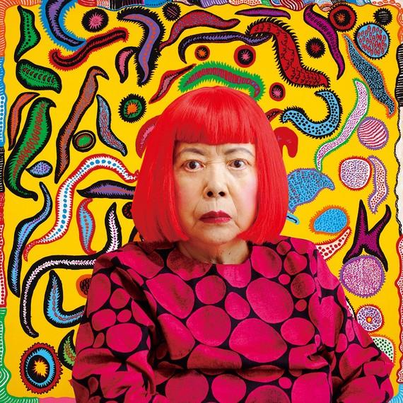 草間彌生は「死に物狂いで闘ってきた」と語った。世界が熱狂する芸術家が生まれるまで