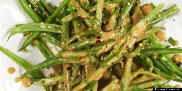 Spiced Sesame Green Beans Recipe