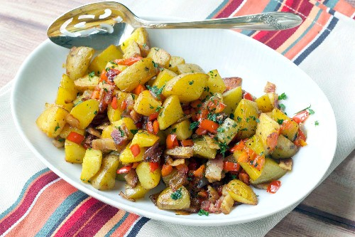 Crispy Roasted Breakfast Potatoes for Brunch Happiness