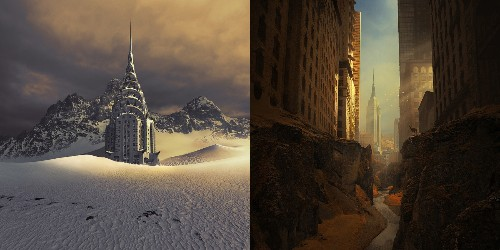 25 Parallel Worlds Created by Photoshop Master Michal Karcz