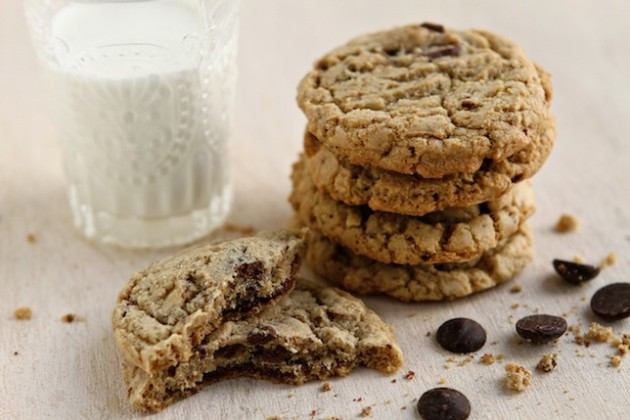 Almond Chocolate Chip Cookies to Make the World Go 'Round