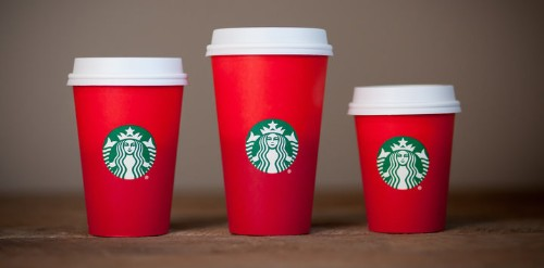Starbucks' Red Holiday Cups Look A Whole Lot Different This Year