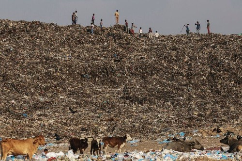 'Trash Mountain' Rises Up In Mumbai As City Runs Out Of Space For Its Own Waste