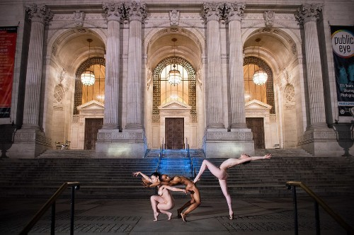 Ballet Dancers Glide Their Way Through NYC — Naked — In Stunning Photos