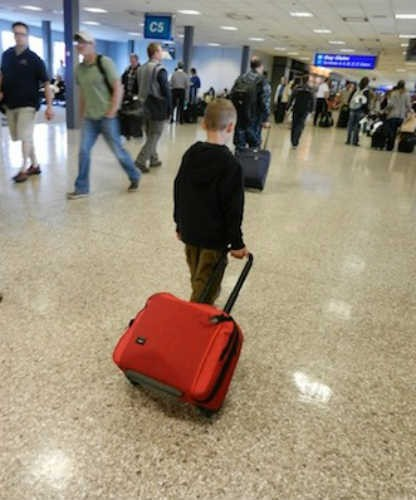 Skip Checked Baggage Fees: How to Fly Carry-On With Kids