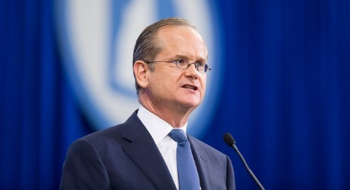 Lawrence Lessig Withdraws 'Totally Stupid' Plan To Resign Presidency