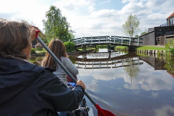 Wetlands Safari -- Canoeing in Holland