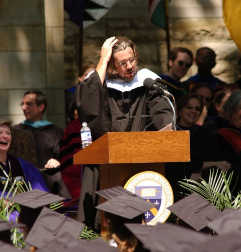 David Foster Wallace's Famous Commencement Speech Almost Didn't Happen