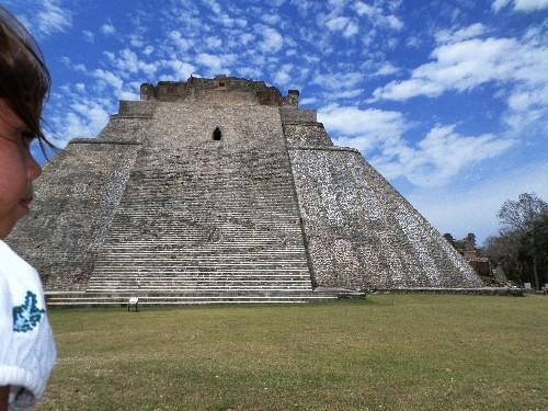A Mayan Pyramid and a Mayan Chocolate Story ~ Uxmal, Mexico