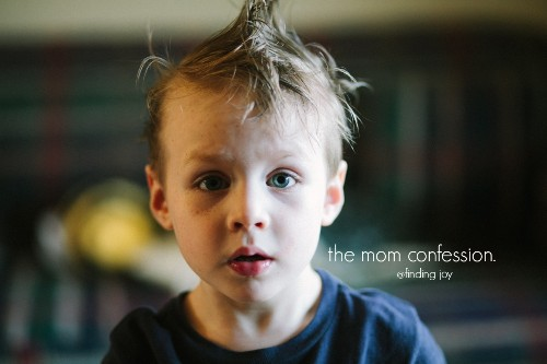 The Mom Confession