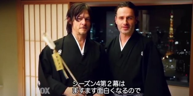 You've Never Seen 'The Walking Dead' Stars Like This